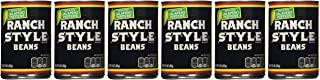 Ranch Style Beans, Sliced Jalapeno Peppers, 15oz Can (Pack of 6)