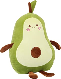 Large Avocado Plush, Super Soft Avocado Stuffed Toy with...
