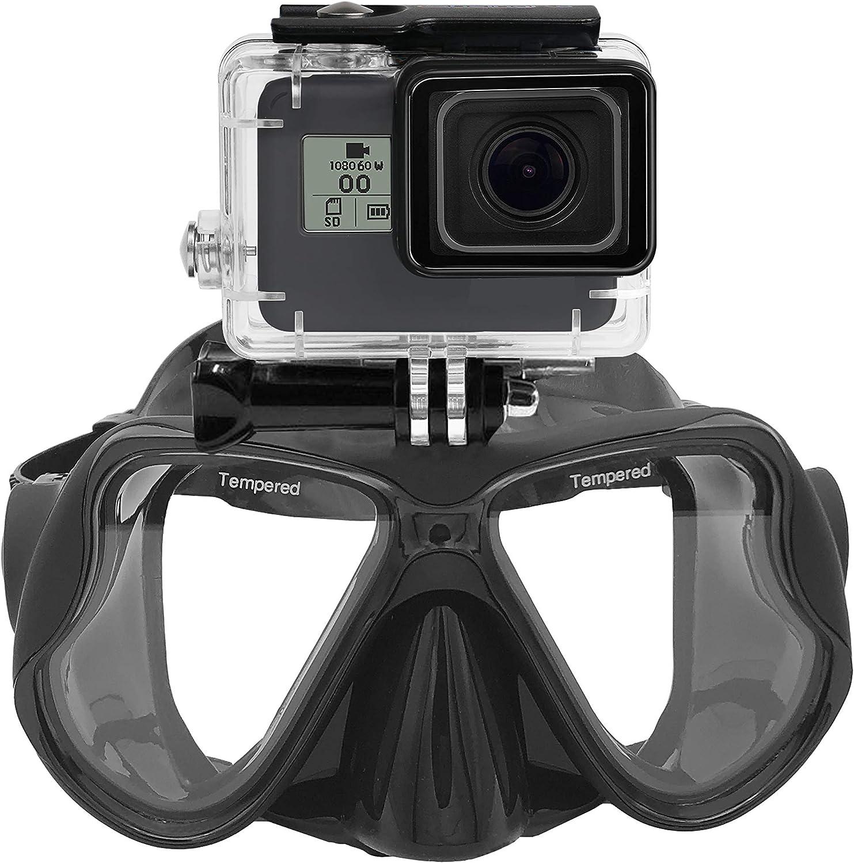La mejor máscara de snorkel con soporte para Gopro