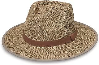Wallaroo Hat Company Men's Charleston Fedora – UPF 50+, Classic Surf Hat, Designed in Australia