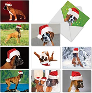 Best boxer dog christmas cards Reviews