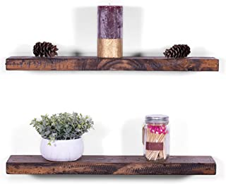 DAKODA LOVE Floating Shelves Solid Wood 24