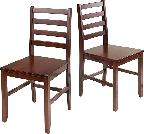 Winsome Wood 94236 Hamilton Seating Antique Walnut