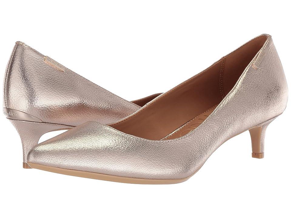 Calvin Klein Gabrianna Pump (Soft Platinum) Women