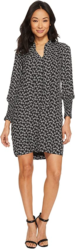Rebecca Taylor - Long Sleeve Rue Floral Dress