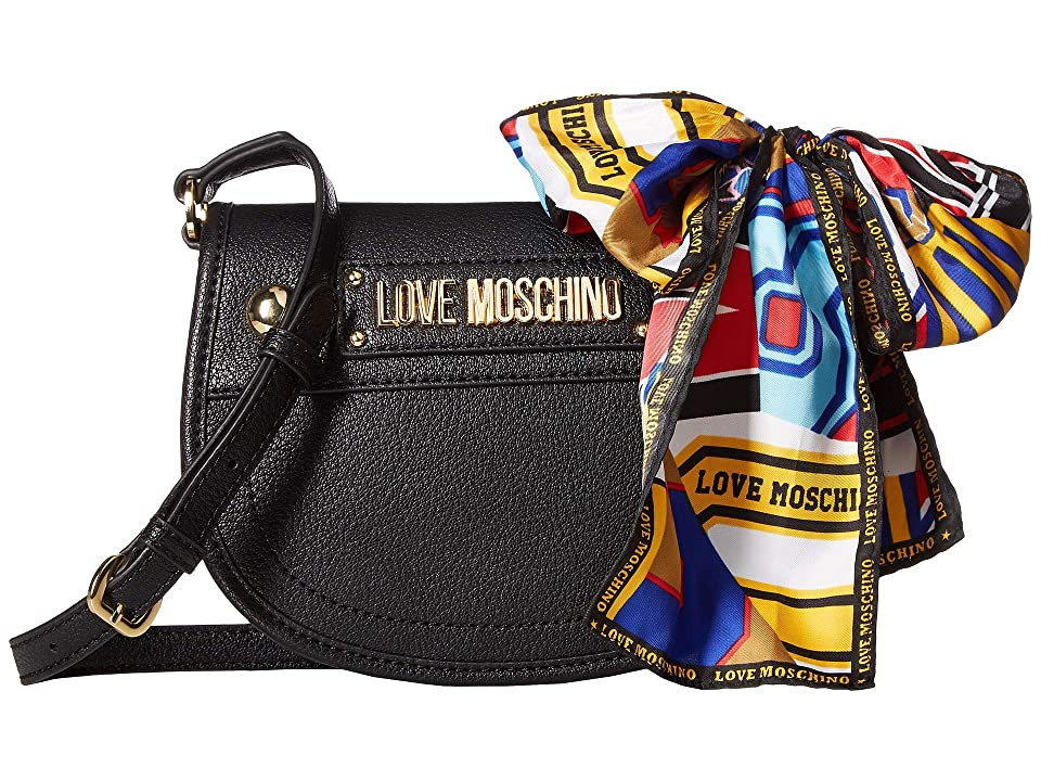 LOVE Moschino - LOVE Moschino Crossbody Bag with Scarf