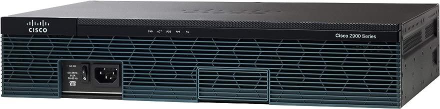 Cisco CISCO2911/K9 2911 Integrated Services Router - 4X HWIC, 2X CompactFlash (CF) Card, 2X Services