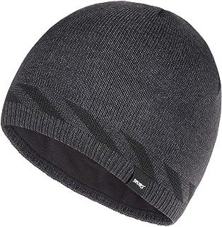 3c4567dc5ecf9 Bodvera Mens Winter Beanie Hat Warm Knit Cuffed Plain Toboggan Ski Skull Cap  4 Colors