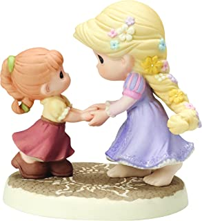 Precious Moments, Disney Showcase Collection, We Go Hand-In-Hand Bisque Porcelain Figurine, 154012