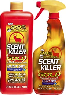 Scent Killer 1259 Wildlife Research Gold 24/24 Combo, 48 oz.