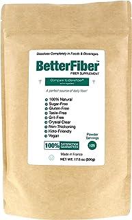 BetterFiber - Prebiotic Fiber Supplement [100% Generic Equivalent of Leading Brand] ⊘ Non-GMO ❤ Gluten-Free ☮ Vegan ✡ OU K...