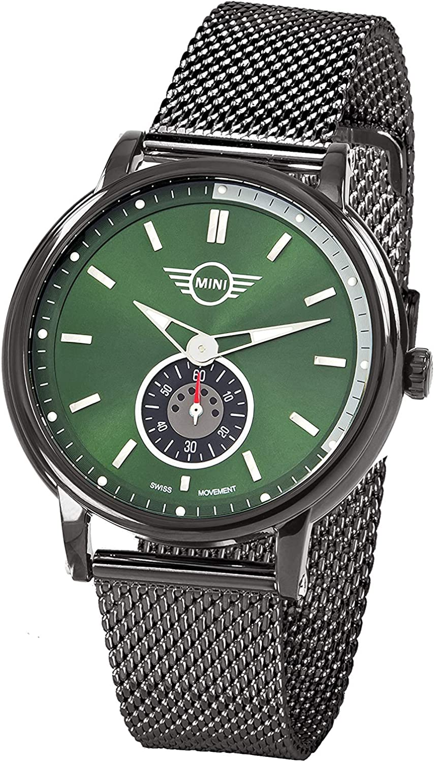 Mini Unisex Adult Analogue 1 year warranty Classic with Stainless Quartz Watch S Challenge the lowest price of Japan