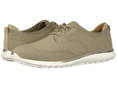 Hush Puppies Tricia Wing Tip Knit (Taupe Knit) Women