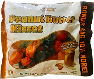 Melster's Gluten Free Peanut Butter Kisses 8.25 Oz 10% Larger Bonus Bag (3 Pack)