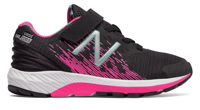 (ニューバランス) New Balance 靴?シューズ キッズランニング FuelCore Urge Black with Pink Glo ブラック ピンク グロー US 3 (21cm)