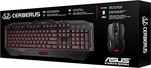 ASUS Cerberus Gaming Keyboard and Mouse Combo - Cerberus Combo