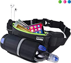 Peak Gear Waist Pack and Water Bottle Belt - New Larger Size - Hydration Fanny Pack for Jogging, Walking or Hiking