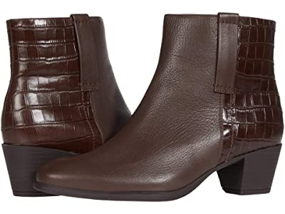 Munro Karsyn (Brown Leather/Croc) Women