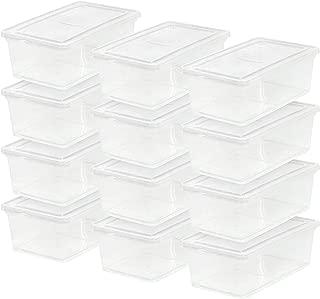 IRIS USA, Inc. CNL-6 6 Quart Clear Storage Box,