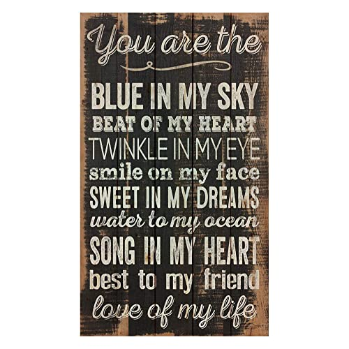 """Everything /"""" Gift Sign Beautiful Distressed Hand Made Plaque /"""" Love Is ..."""