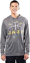 NBA mens NBA Super Soft Lightweight Pullover Hoodie Sweatshirt