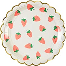 strawberry party print
