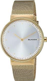 Skagen Women's Annelie Stainless Steel and Mesh Dress Quartz Watch