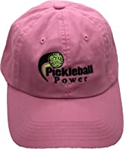 PORT AND COMPANY Ladies Garment-Washed Ball Cap - Embroidered & Adjustable - Bright Pink