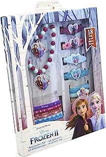 JOY TOY 19389 Disney Frozen 2-tillbehörsset 18 TLG, flerfärgad