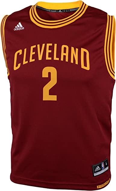 adidas Kyrie Irving Cleveland Cavaliers Youth Maroon Jersey
