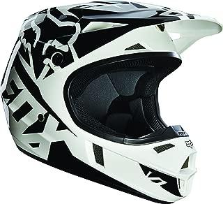 Fox Racing Race Youth V1 Motocross Motorcycle Helmet - Black / Medium