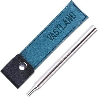 VASTLAND(ヴァストランド) ふいご 火吹き棒 火起こし カラビナ収納ケース付き 伸縮6段式