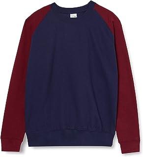AWDis Men's Baseball Sweat Sweatshirt