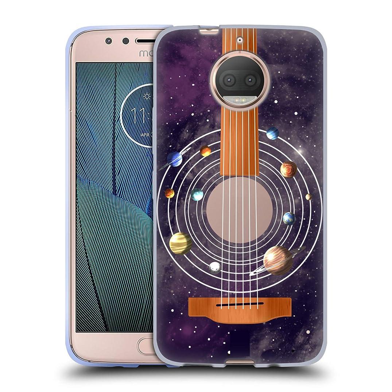 Head Case Designs Guitar Space Music Soft Gel Case for Motorola Moto G5S Plus