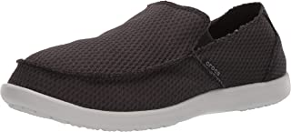 Crocs Mens Santa Cruz Mesh Slip-on