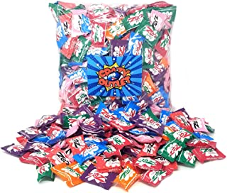 CrazyOutlet Pack - Zotz Fizz Power Candy, Assorted Fruit Flavor Party Hard Candy, 2 lbs - Halloween Candy