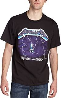 Bravado Men's Metallica- Ride Lightning T-Shirt