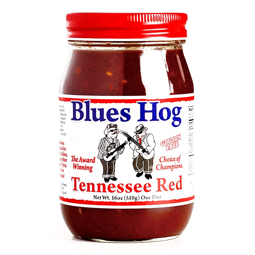 Blues Hog Tennessee Red Sauce 16 oz each (2 Items Per Order)