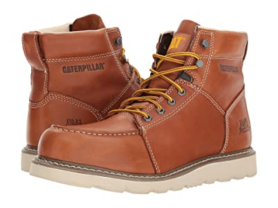 Caterpillar Tradesman (Brown Full Grain Leather) Men