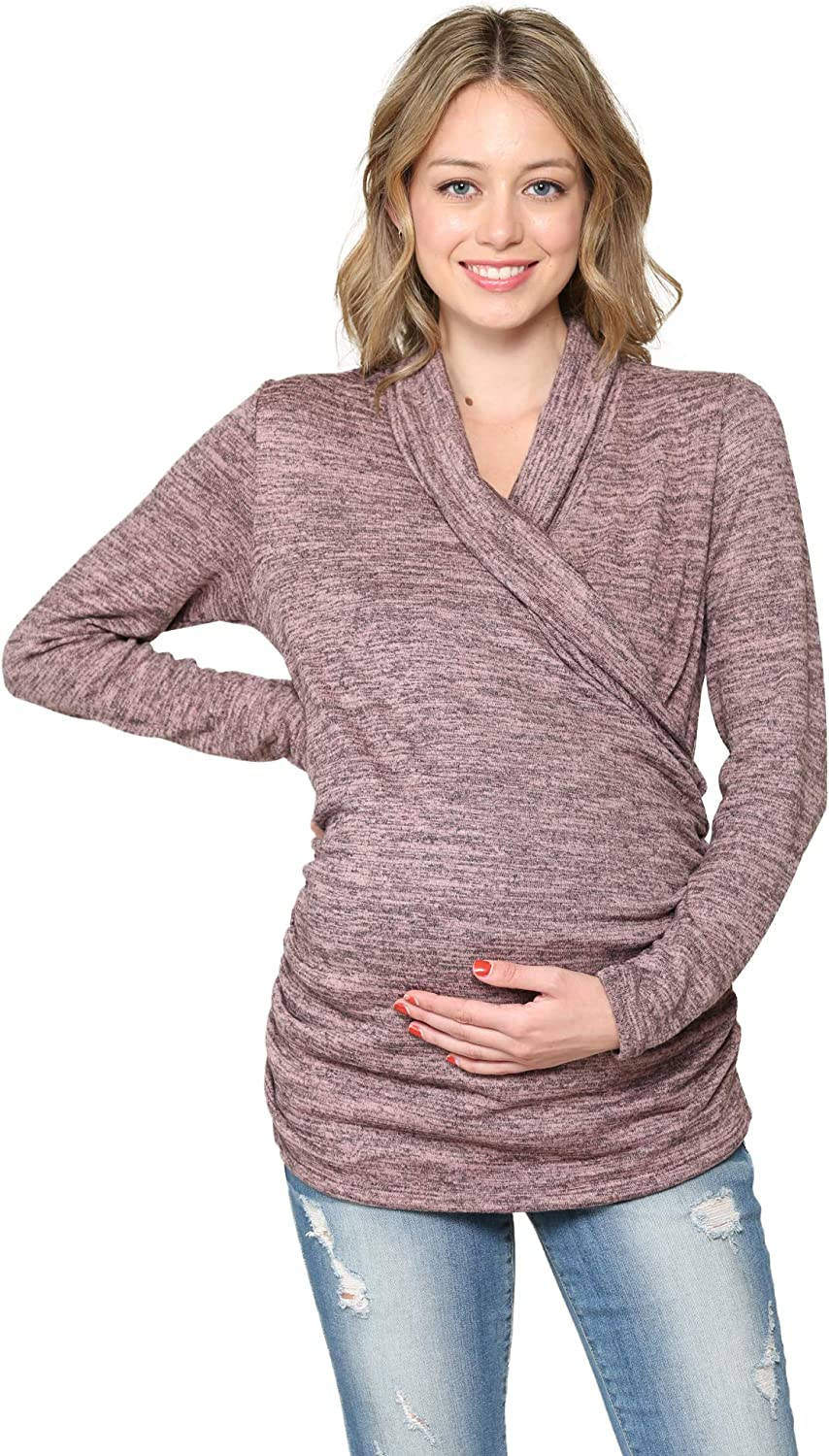 Women's Long Sleeve Sweater Maternity Max 44% OFF Top Price reduction