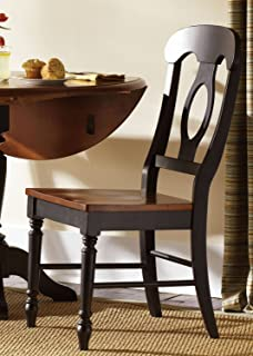 Liberty Furniture Low Country Napoleon Back Dining Side Chair