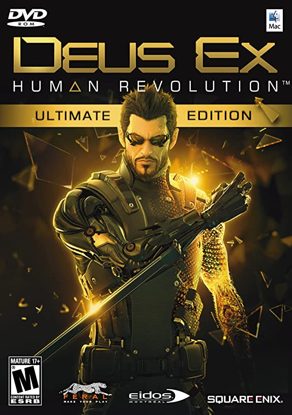 枯渇集計ケーブルDEUS EX: HUMAN REVOLUTION - ULTIMATE EDITION (MAC) (輸入版)