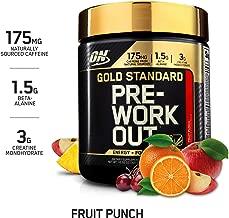 gold standard pre workout fruit punch