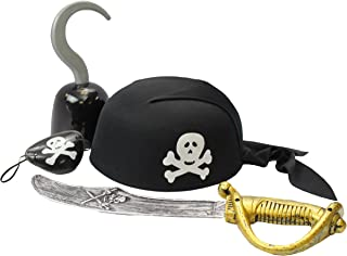 Funny Party Hats Pirate Accessories - Costume Accessory Set