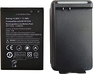 ASUS ZenFone Go ZB551KL 交換用 互換バッテリー(電池パック) +充電器セット 充電器はUSB出力付き B11P1510