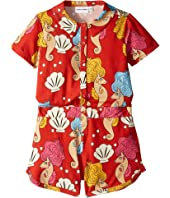 mini rodini - Seahorse Summersuit (Infant/Toddler/Little Kids/Big Kids)