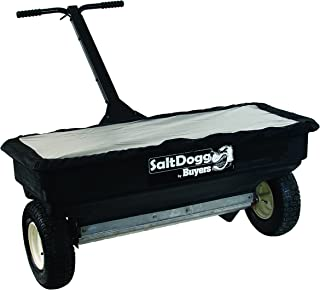 SaltDogg WB400 Professional 200 lb Capacity Walk Behind Drop Salt Spreader