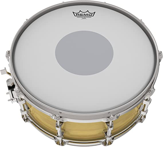 14 Inch Remo Controlled Sound Coated Drum Head with Reverse Black Dot