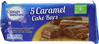 Weight Watchers Caramel Cake Bars 5 per pack