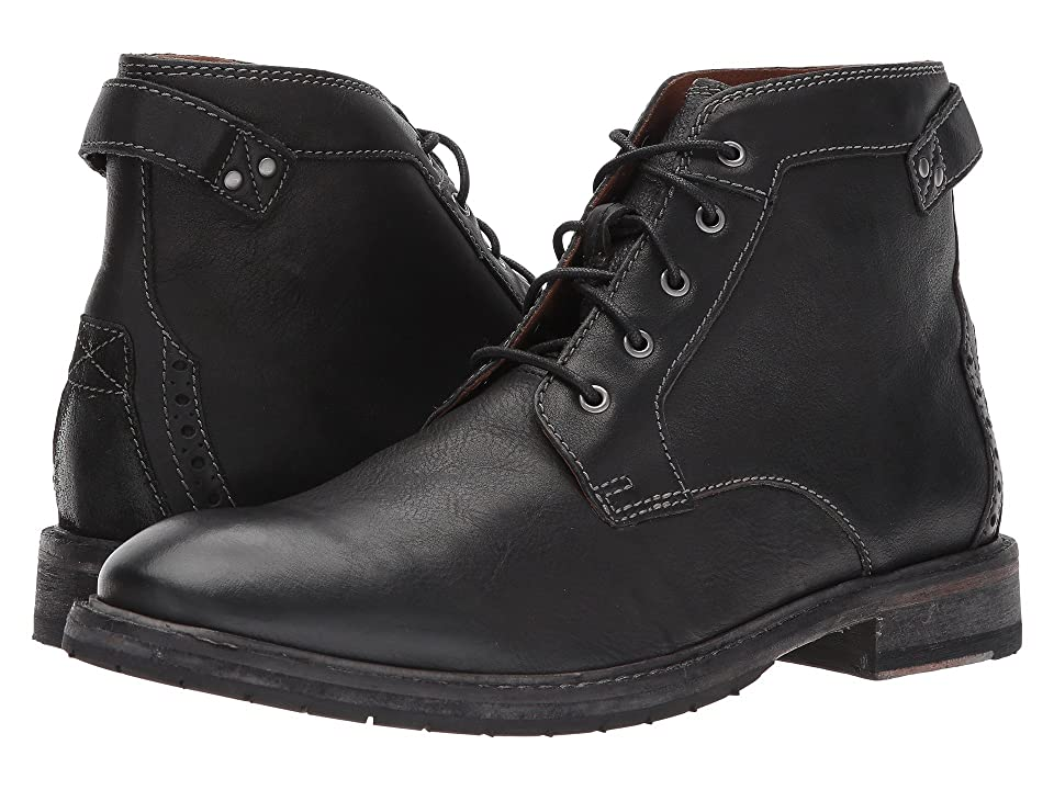 Clarks Clarkdale Bud (Black Leather) Men